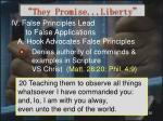 they promise liberty22