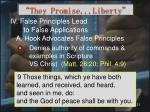 they promise liberty23