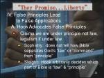 they promise liberty25