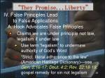 they promise liberty26