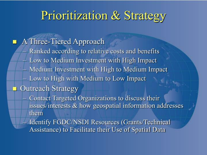 A Three-Tiered Approach