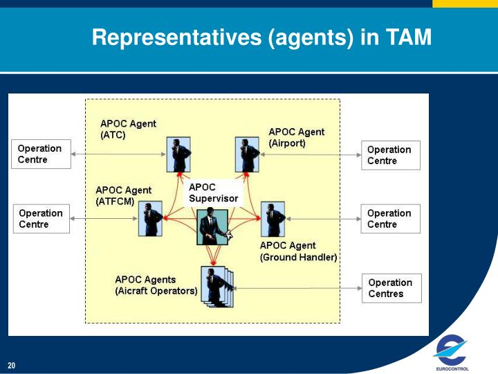 Representatives (agents) in TAM