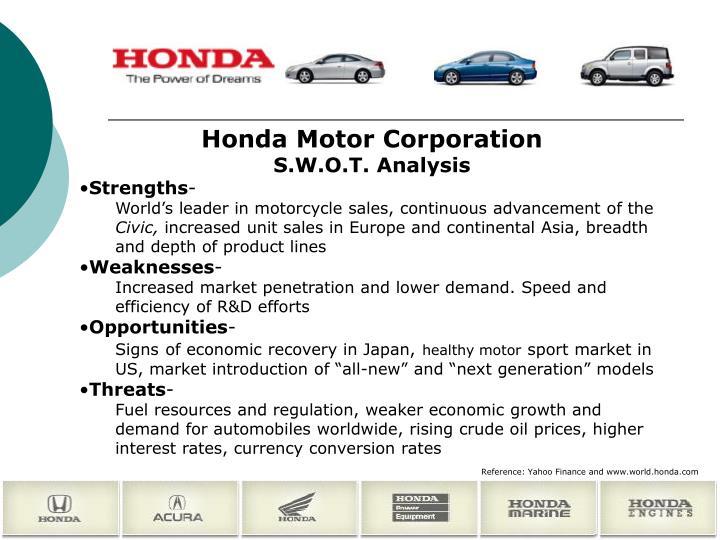 Honda Motor Corporation