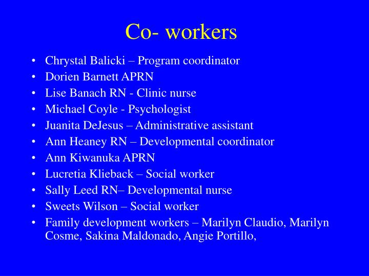 Chrystal Balicki – Program coordinator