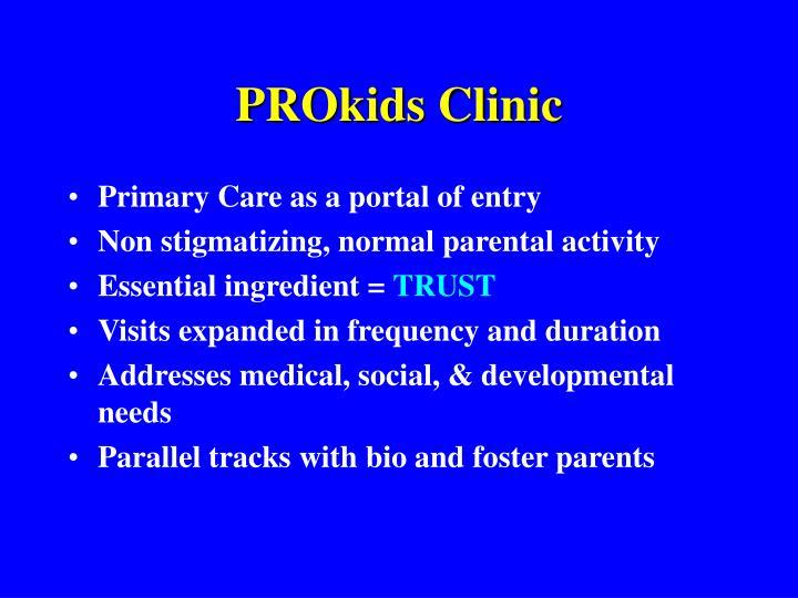 PROkids Clinic