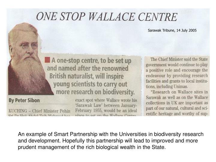 Sarawak Tribune, 14 July 2005