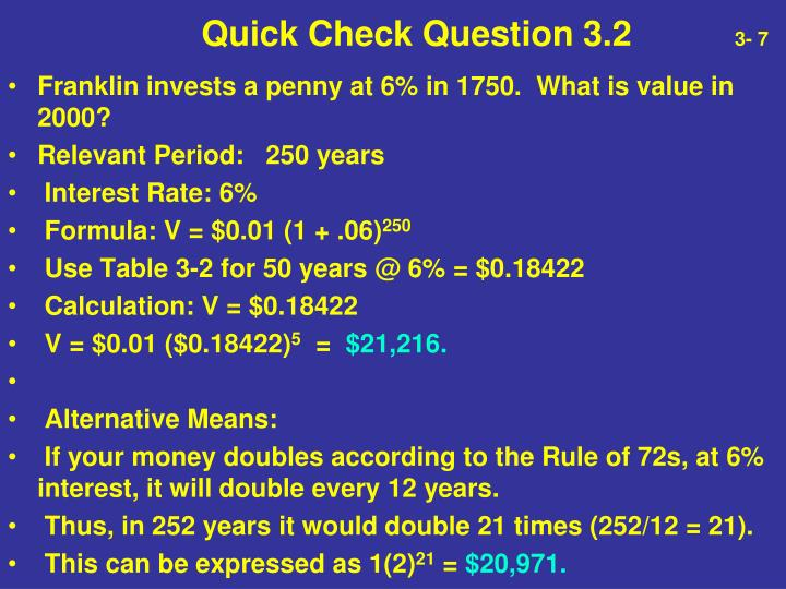 Quick Check Question 3.2