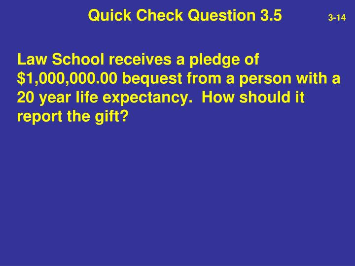 Quick Check Question 3.5