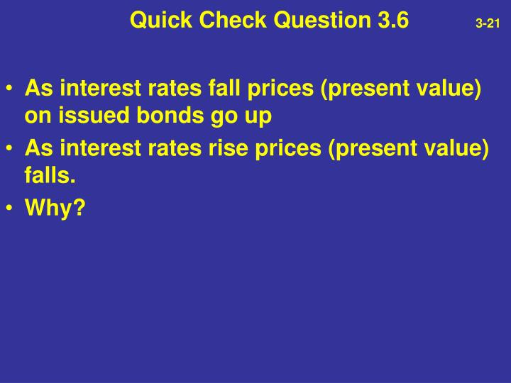 Quick Check Question 3.6