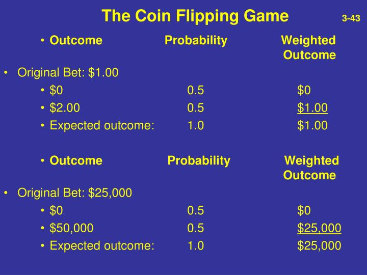 The Coin Flipping Game