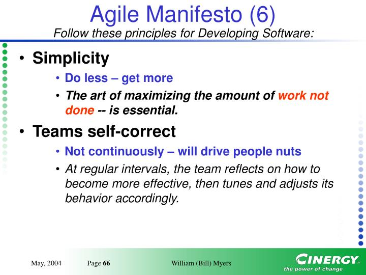 Agile Manifesto (6)