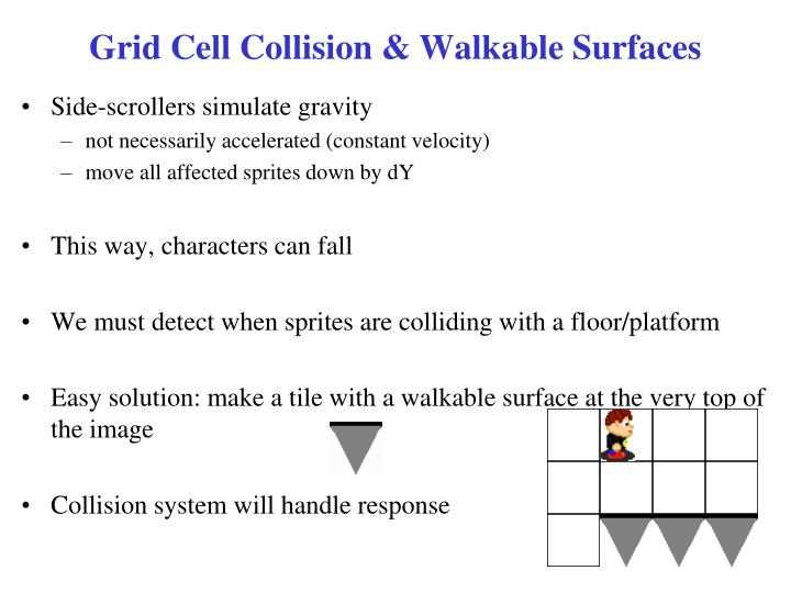Grid Cell Collision & Walkable Surfaces