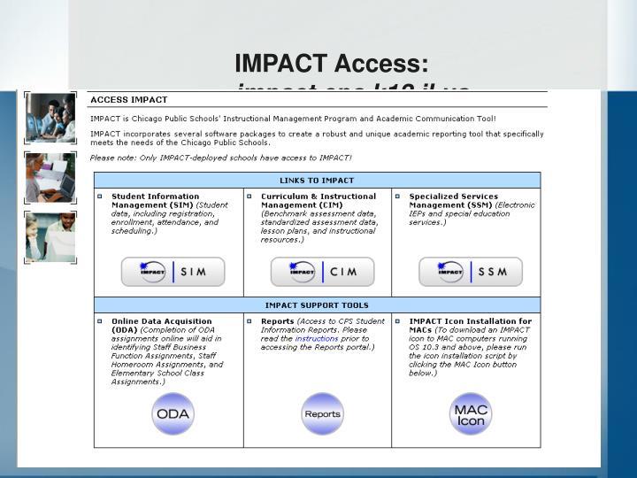 IMPACT Access: