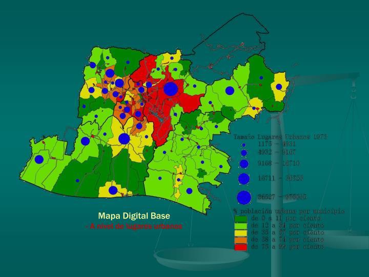 Mapa Digital Base