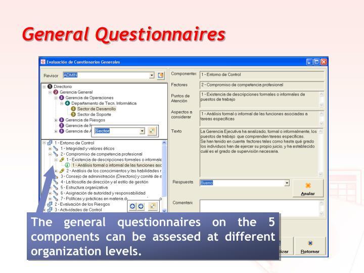 General Questionnaires
