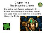 chapter 10 3 the byzantine church