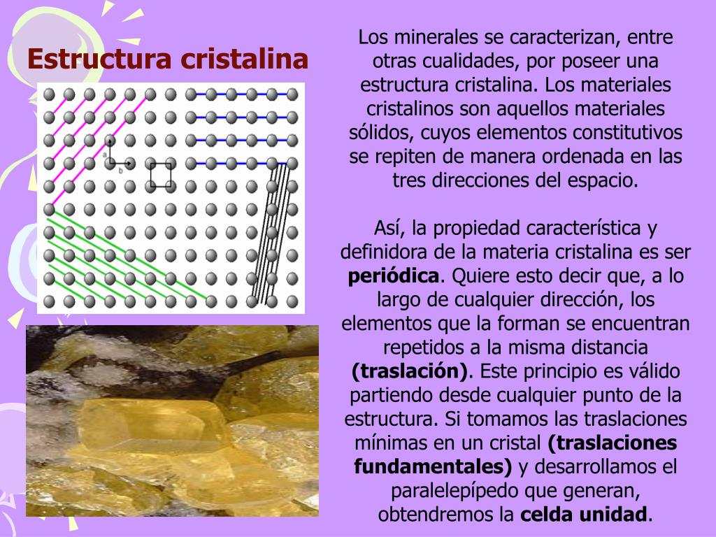 Ppt Minerales Powerpoint Presentation Free Download Id