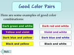 good color pairs