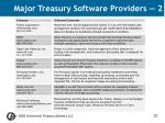 major treasury software providers 2