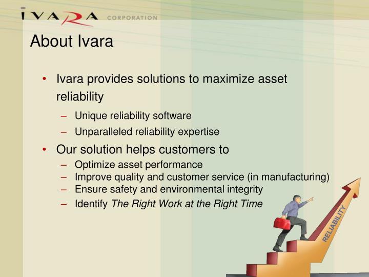 About ivara