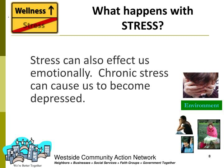 What happens with STRESS?