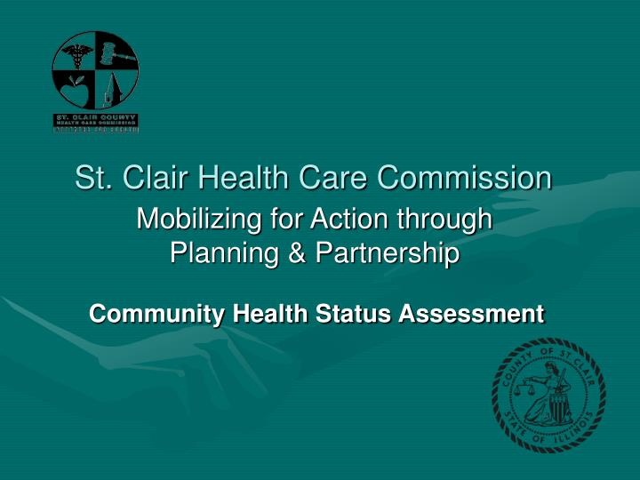 St clair health care commission