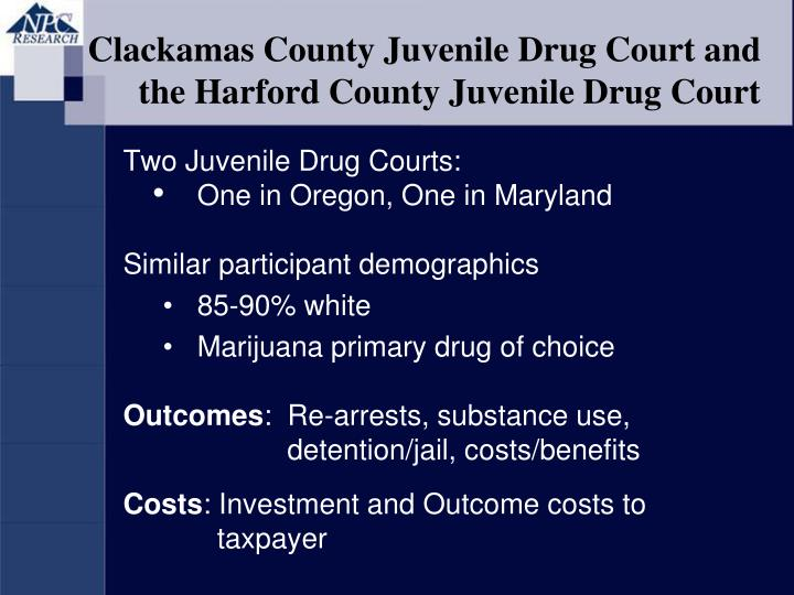drug court vs incarceration Drug courts are specialized, court-administered programs designed to provide treatment options for addicted offenders in the criminal justice system there are over 2800 drug courts operating in all 50 states and us territories more than half serve adults with substance addiction and dependency.