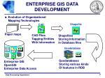 enterprise gis data development