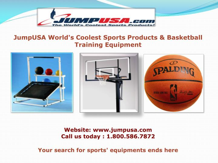 JumpUSA World's Coolest Sports Products & Basketball Training Equipment