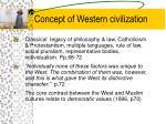 concept of western civilization