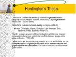 huntington s thesis1