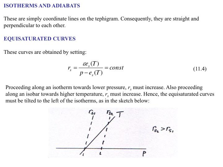 ISOTHERMS AND ADIABATS