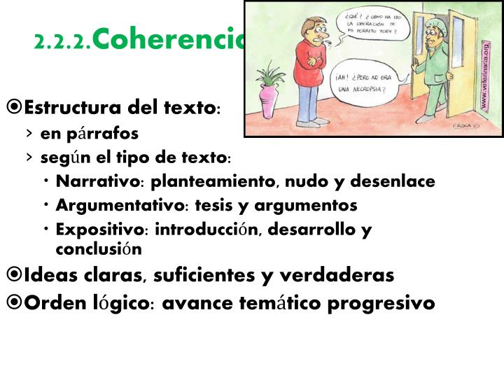 2.2.2.Coherencia