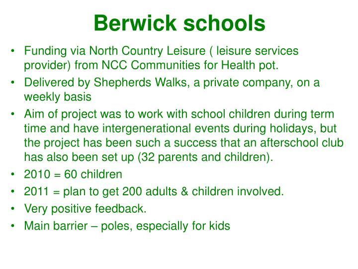 Berwick schools