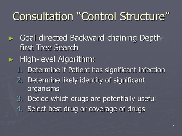 "Consultation ""Control Structure"""