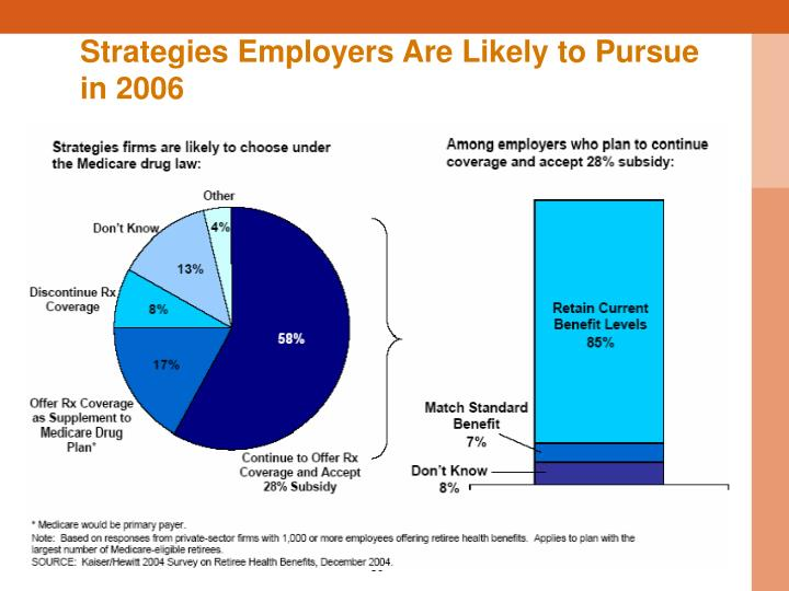 Strategies Employers Are Likely to Pursue in 2006