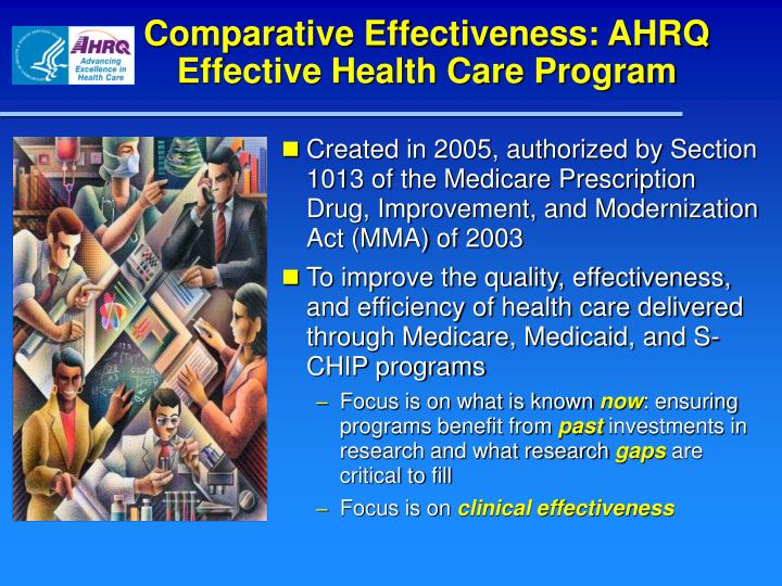 Comparative Effectiveness: AHRQ