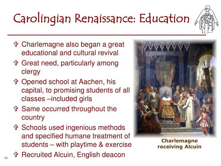 Carolingian Renaissance: Education