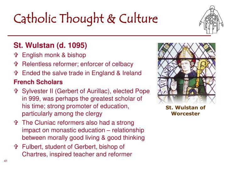 Catholic Thought & Culture
