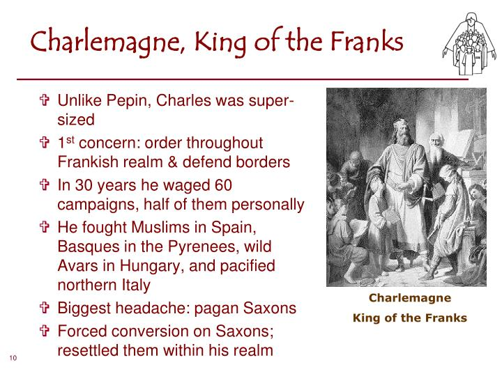 Charlemagne, King of the Franks