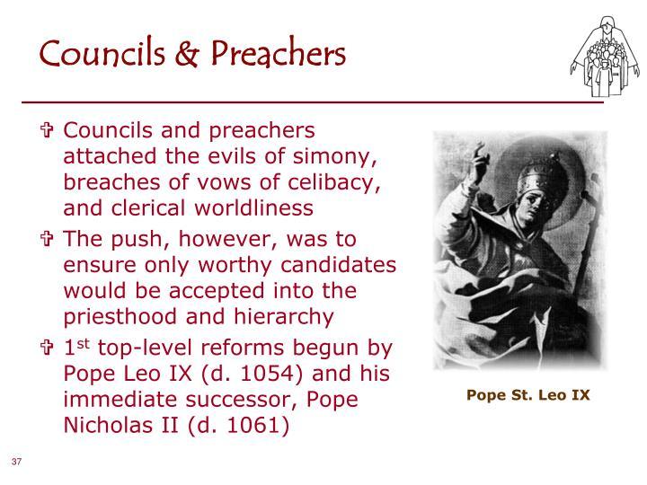 Councils & Preachers