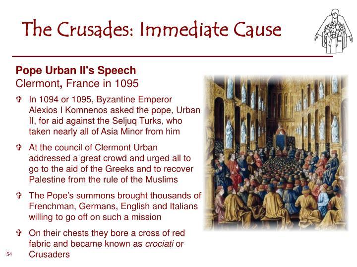 Pope Urban II's Speech