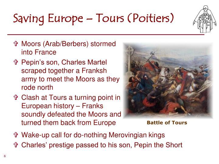 Saving Europe – Tours (Poitiers)