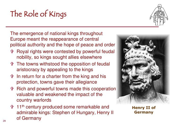 The Role of Kings