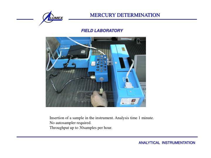 MERCURY DETERMINATION