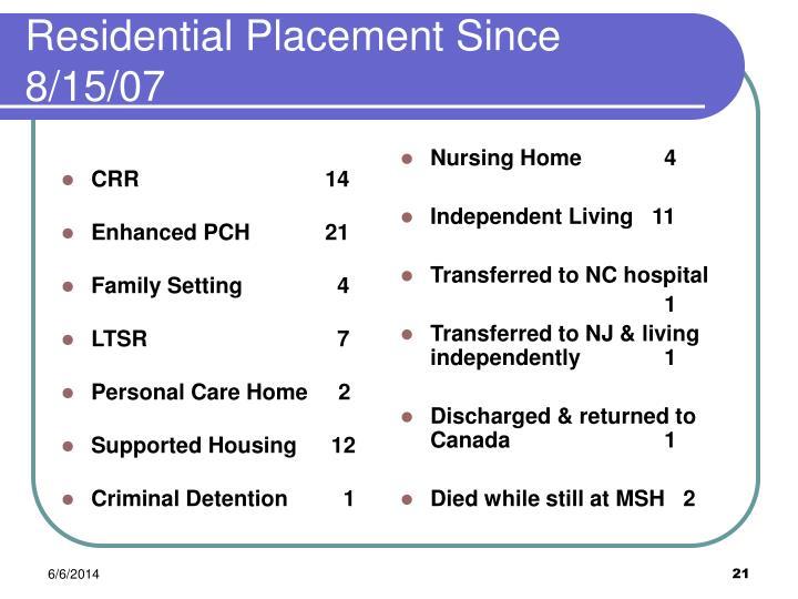 Nursing Home    4