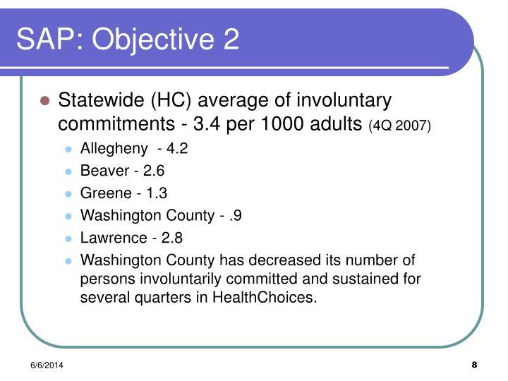 SAP: Objective 2