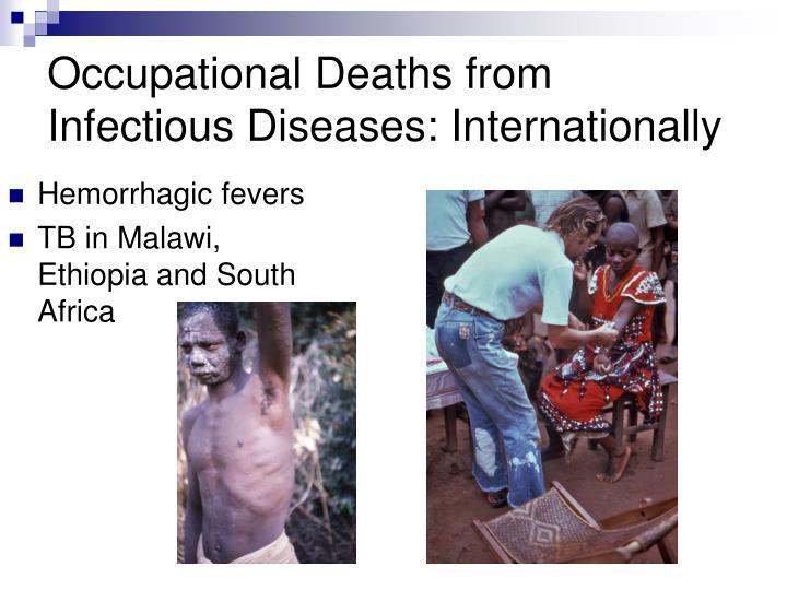 Hemorrhagic fevers