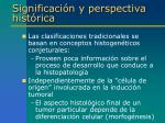 significaci n y perspectiva hist rica1