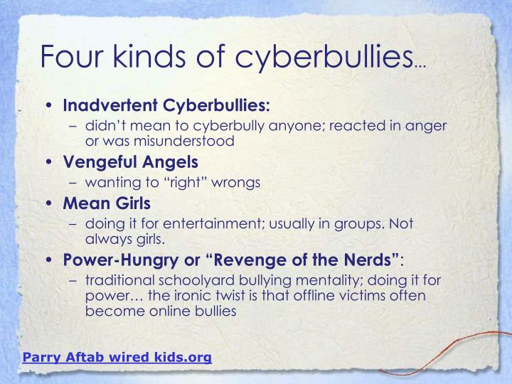 Inadvertent Cyberbullies:
